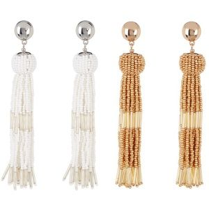 Vince Camuto Drop Tassel Earrings Final Sale !!!